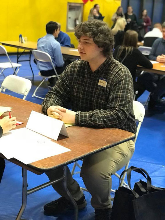 Albany High School seniors attend Youth Job Fair.