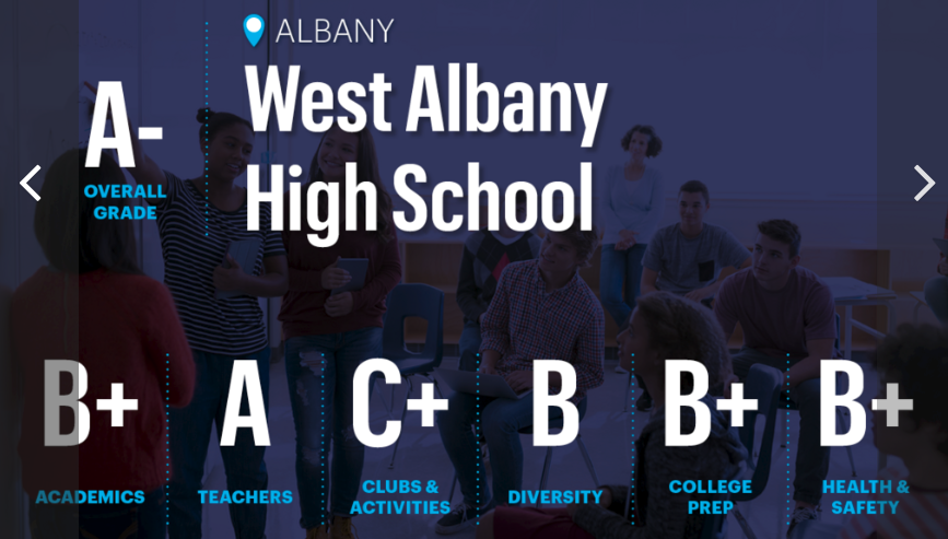 West Albany makes top schools list again for 2020