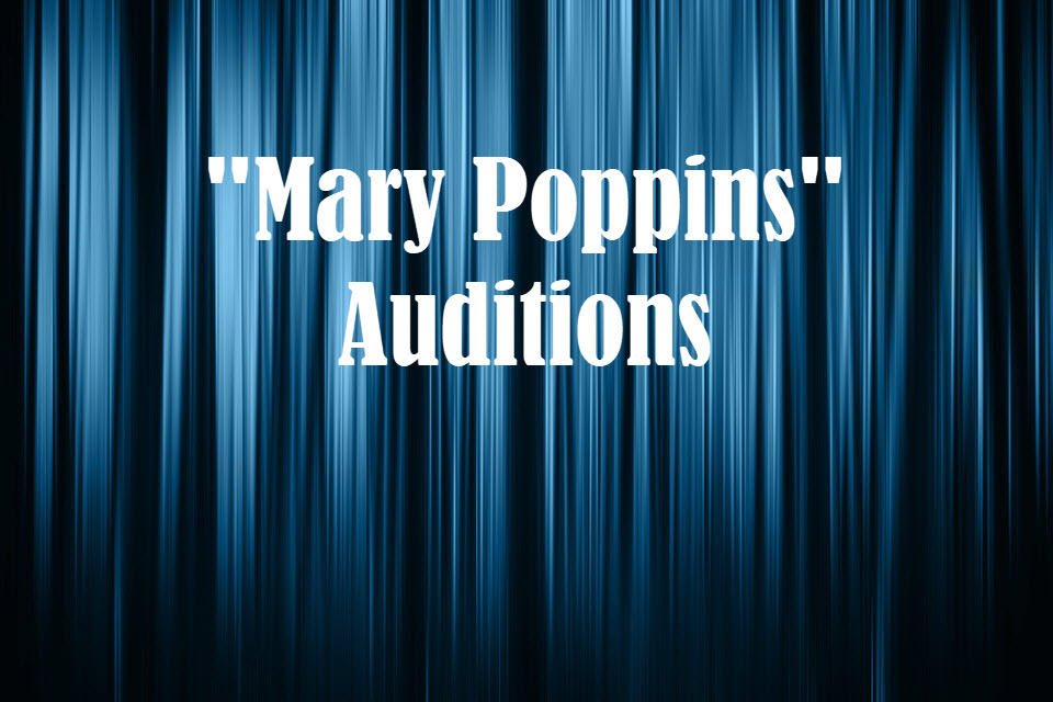 West Albany Drama -- Mary Poppins auditions information